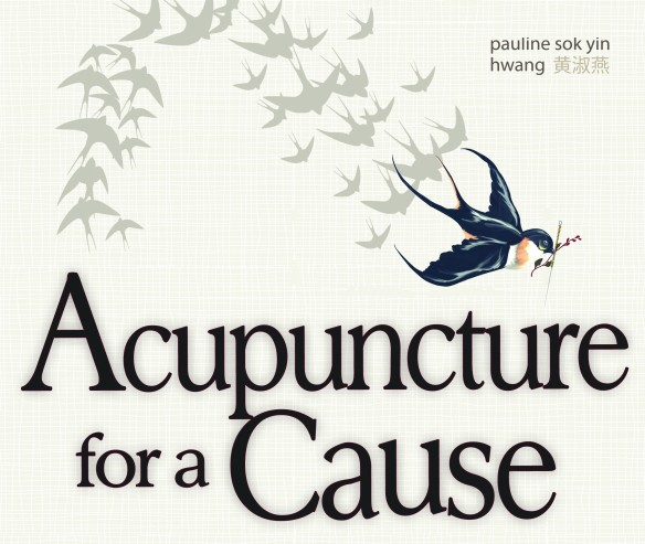 Poster for May 3 acupuncture fundraiser